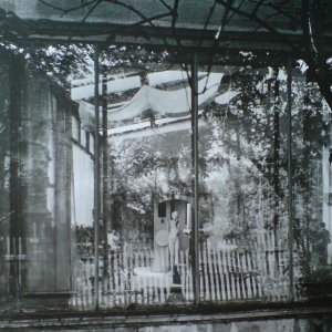 Josef Sudek – Zahrádka u paní sochařové 1953