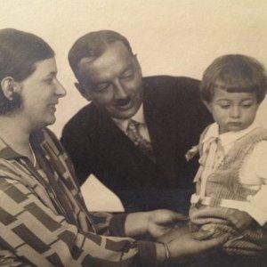 František Drtikol – šťastná rodina