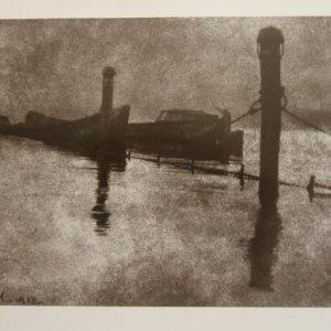 František Drtikol – KRAJINA /1912  OLEJOTISK