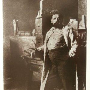František Drtikol – STANISLAV SUCHARDA / 1913 OLEJOTISK