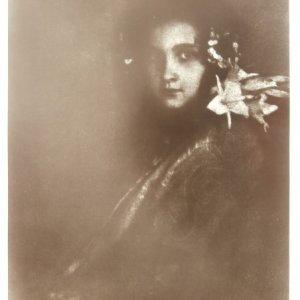 František Drtikol – PORTRÉT/1914  OLEJOTISK