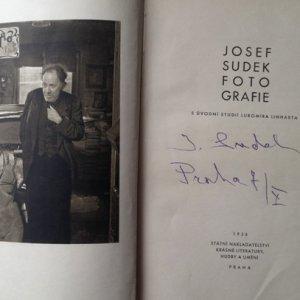 Josef Sudek – 1.1. Josef Sudek / Fotografie
