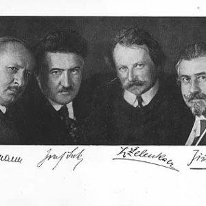 František Drtikol – české kvarteto 1892 – 1922