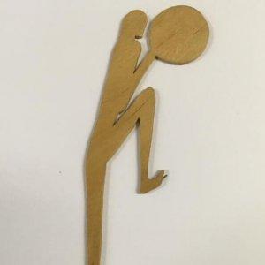 DRTIKOL – fotopurismus – dřevěná figurka žena
