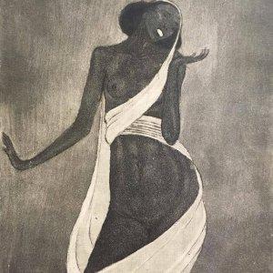 František Drtikol – Akt tanečnice