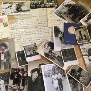 soubor 25 fotografií manželky a dcery Františka Drtikola + mimořádně zajímavý dopis!! rady FD dcerušce Ervínce..buddhismus..