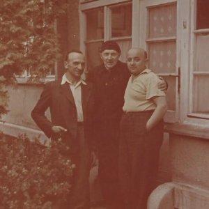 František Drtikol – Fráňa s přáteli 1956